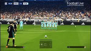 pes 2018 real madrid vs barcelona free kick goal cr7 el clasico final uefa chions league football live