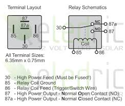 5 pin relay wiring diagram driving lights images pin relay wiring relay 12v 100a 5 pin spst