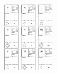 Lewis Structure Worksheets With Answers Bohr Model And Lewis Dot Diagram Worksheet Answers Fresh