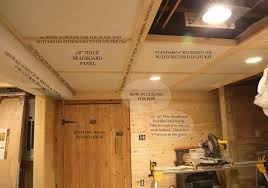 beadboard ceilings installation and pros and cons. Image Of: Insulation For Basement Ceiling Options With Regard To Beadboard Ceilings Installation And Pros Cons I