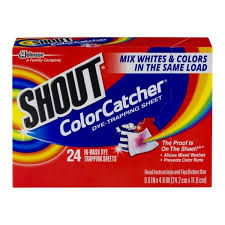 Shout Color Catcher In Wash Dye Trapping Sheets Hy Vee Aisles