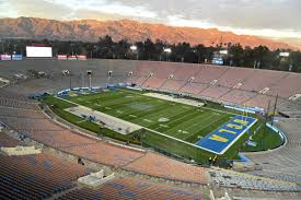Ucla Football Bench Switches To The Rose Bowls Shady Side