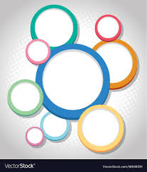 Design Circle Background Design With Colorful Circles