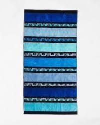 Покажи само продуктите на разпродажба. Plazhna Havliya Le Comptoir De La Plage Blue Big Stripes Le Comptoir De La Plage Blue Big Stripes