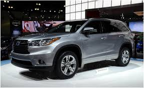 2014 TOYOTA HIGHLANDER design and price New cars reviews ...