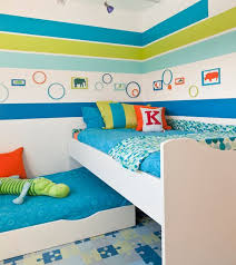 bed designs for kids. Snazzy Trundle Bed Design Blends In With The Multitude Of Hip Colors Designs For Kids