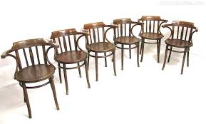 6 bentwood armchairs chair sets of 6 antique dining chairs