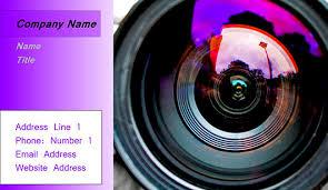 Photographer Business Card Templates Juicybc Blog