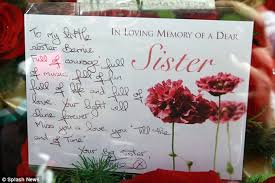 bernie nolan funeral the nolan sisters come together to mourn Wedding Cards Messages For Sister tribute after overcoming a rocky patch in their relationship as sisters over the past few wedding cards messages for sister