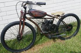 vintage rat bobber 4 stroke motorized bicycle youtube