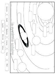 Free Solar System Coloring Pages Respectfulejectco