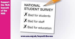Ucu - Support The Nss Boycott