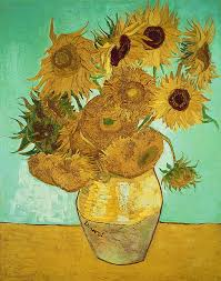 sunflowers painting sunflowers by vincent van gogh