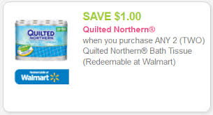 NEW Quilted Northern Coupon + Kroger Sales! - Kroger Krazy & Quilted Northern Toilet Tissue (4 double rolls) – $3.59 (thru 1/4) Adamdwight.com