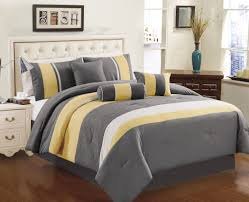 Modern Bedroom Comforters Yellow Grey White Simple Modern Bedding Sets Ease Bedding With Style