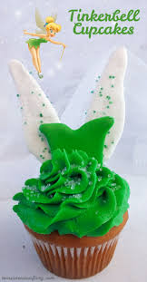 tinkerbell cupcakes so cute and so delicious clap if you believe we have