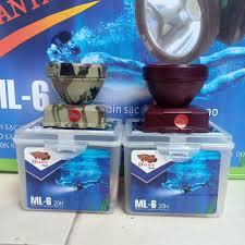 Đèn Chuyên Dùng Thợ Lặn 35w - Đèn Đội Đầu Pin Sạc Chống Nước ML6 Dony Rằn ri  2 pin - Đèn & Đèn Pin