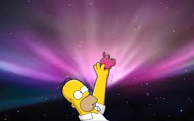 homer simpson apple wallpapers cool