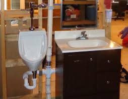 Install Bathroom Sink Magnificent DIY Urinal Installation My Tale Of Woe