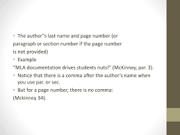 Ppt Mla Review Powerpoint Presentation Id4221219