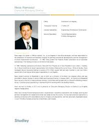 Resume Bio Example Awesome Sample Resume Professional Autobiography Examples Davidbodnerco