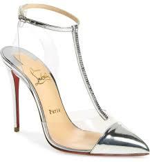 Designer Pvc Heels Ebay Sponsored Christian Louboutin Nosy Strass Leather Pvc
