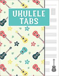 Blank Ukulele Chord Chart Printable Amazon Com Ukulele Tabs Blank Ukulele Tabulatur Notebook