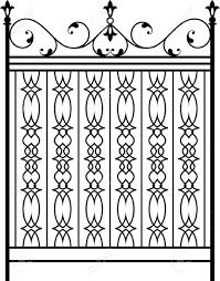 Cast Iron Fence Designs Wrought Iron Gate Door Fence Window Grill Railing Design