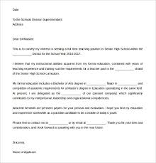 Intent Letter Sample For School 13 School Letter Of Intent Templates Pdf Doc Free