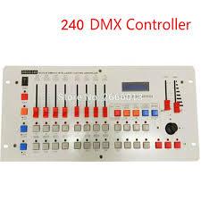 best quality 24 channels disco240 dmx controller for disco nightclub party bar dj dmx lighting console