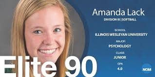 """NCAA Division III on Twitter: """"Congratulations to Amanda Lack of ..."""