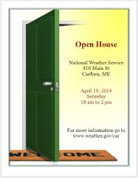 Open House Invitation Flyer Template - Free Flyer Templates