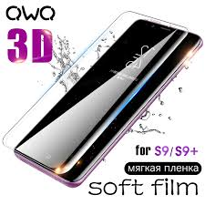 <b>3D Curved Soft</b> Film For Samsung Galaxy S9 S8 Screen Protector ...