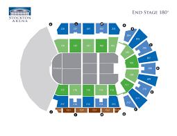 Stockton Arena Seating Chart Seating Charts Asm Global Stockton