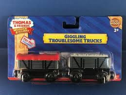 thomas friends wooden railway giggling troublesome trucks for