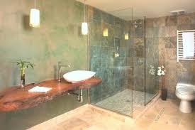 Doorless Shower Stalls