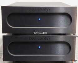 Bel Canto Design Ref500m Bel Canto E One Ref500m Monoblocks Lots Of Positive Reviews