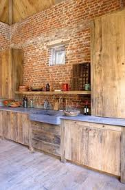beautiful kitchens tumblr. This Is.a Lot Of Brick And Wood, Its Almost Too Rough Cut But I Think Really Like It. Brick, Stone, Wood Concrete: 15 Beautiful, Rustic Kitchens Beautiful Tumblr
