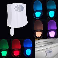 toilet lighting. led toilet night light with motion sensor lighting o