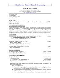 Cover Letter Resume Samples Accounting Entry Level 2018 Accounting