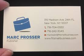 Buiness Card Best Business Card Provider For Small Businesses 2018