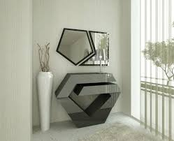 MODERN LIVING ROOM DESIGN WITH CONSOLE TABLES | The selection of a contemporary  console table will