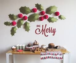 xmas wall decorations diy decor designcorner portray