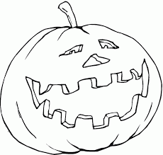 Small Picture Coloring Pages Funny Pumpkins Coloring Pages For Kids Halloween