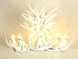 full size of white faux deer antler chandelier uk canada lamp home improvement glamorous whi