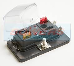single power in 4 way mini blade fuse box with led failure warning 4 way mini blade fuse box at Mini Blade Fuse Box