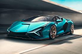 Bugatti is the maker of a few of the most outrageously expensive vehicles in the world. Lamborghini Sian Roadster Review Trims Specs Price New Interior Features Exterior Design And Specifications Carbuzz