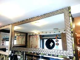wood frame wall mirror large wooden wall mirror large antique silver mosaic wood frame wall wood