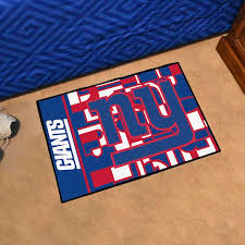 new york giants 20 x 30 quick snap starter floor mat