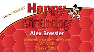 """Bees Football on Twitter: """"Happy Birthday to Alex Bressler! Glad you are  part of our football family. Enjoy your day! GO BEES! #Good2GREAT… """""""